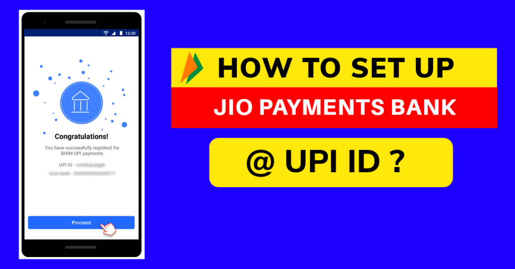 Create Jio Payments Bank UPI