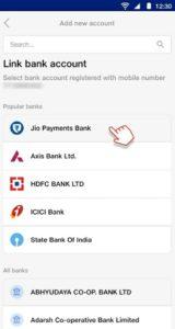 Upi Jio Payment Bank