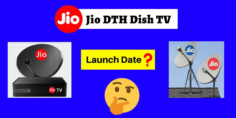 jio dth launchdate